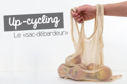 Up-cycling : le sac débardeur